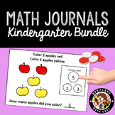 HUGE BUNDLE of 120 Math Journals with Number Bonds: Kinder