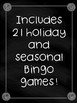 Holidays and Seasons Bingo Bundle!