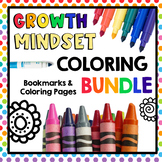 HUGE Bundle of Growth Mindset and Kindness Coloring Pages