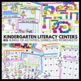 HUGE Bundle of Hands-On Literacy Centers for Kindergarten