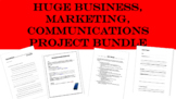 HUGE Business, Marketing, Communications Project Bundle