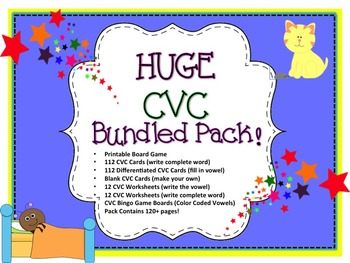 HUGE CVC BUNDLED PACK