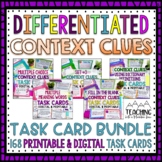 Context Clues Task Card Bundle | Distance Learning | Google Classroom