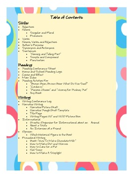 HUGE ELA Packet for Skills, Reading, and Writing (A lot of great Cut and Paste)