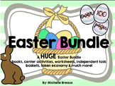 HUGE Easter Spring Bundle Math & Literacy Centers PreK, K, 1, 2, SPED, SLP