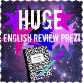HUGE English Terms Review Prezi with handout