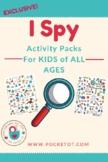 HUGE Eye Spy (I Spy) Activity Pack