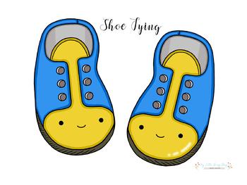 HUGE FREBBIE! Happy shoe tying.
