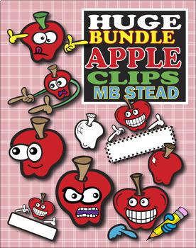 SCHOOL CLIP ART: kids, apples, pencils and more!