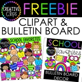 HUGE FREEBIE! School Favorites {Creative Clips Digital Clipart}