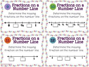 Fraction Task Cards Bundle