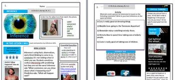 2018 HUGE 4th GA Milestones Bundle Math ELA SC SS Study Guides & TWO Workbooks