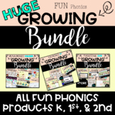 HUGE GROWING BUNDLE of ALL My FUN Phonics Products | Kinder | 1st | 2nd