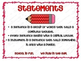 HUGE Grammar Skills Poster Set with Explanations & Examples