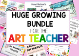 HUGE Growing Bundle: Resources for Teaching Art History, Projects & PowerPoints
