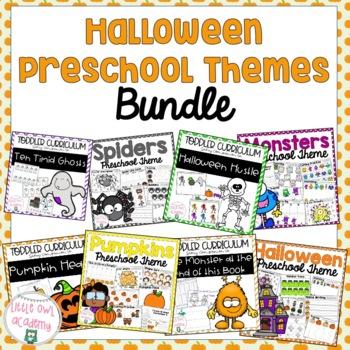 HUGE Halloween Preschool Bundle