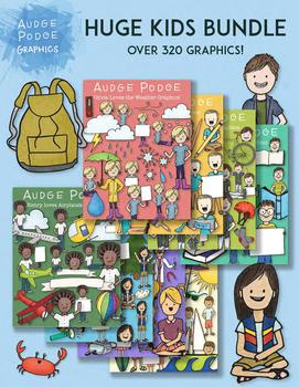 HUGE Kid Graphics Bundle
