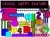 HUGE Math Bundle {TeacherToTeacher Clipart}