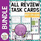 Standardized Test Prep Interventions Maps RIT Band 181-220 Full Bundle