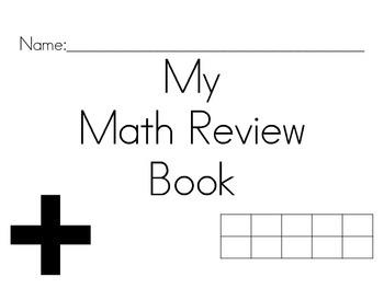 HUGE! Math Spiral Review Book