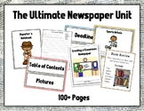 NEWSPAPER UNIT - Packets, Worksheets, Prompts, Samples, Te
