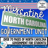My Entire North Carolina Government Unit {BUNDLE}