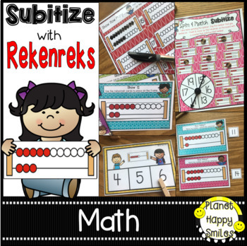HUGE Number Sense Subitizing Bundle