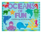 HUGE Ocean Theme Classroom Decor Bundle