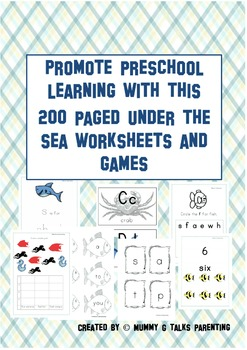HUGE PACK of under the sea or Ocean themed resources, worksheets.