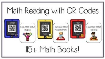 HUGE Pack of QR Code Math Reading Center Books - 115+ Book