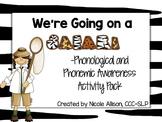 HUGE Phonological and Phonemic Awareness SAFARI Activity Pack
