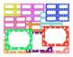 HUGE Polka Dot task cards/labels/page border Pack with ton