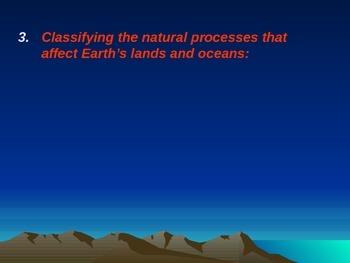 HUGE PowerPoint Earth, Oceans, Weathering, Changes