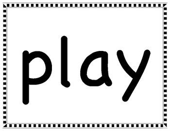 HUGE Printable Set- Large Sight/Dolch/High Frequency Word Cards! OVER 500 CARDS!