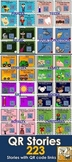 HUGE QR Code Bundle #2 - 223 stories! *K-2 Listening Centers