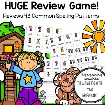 Back to School Review Game