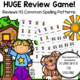 End of the Year Phonics and Spelling Review Game