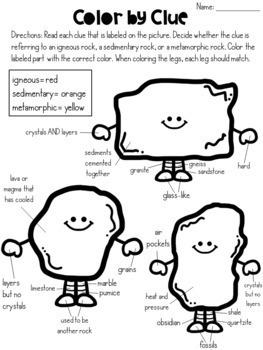 HUGE Rocks and Minerals Unit (Lesson Plans bundled) NGSS Aligned
