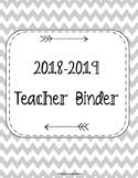 HUGE SALE!! 2018-2019 Teacher Binder. Teacher Planner. Les