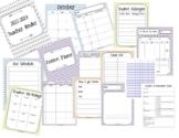HUGE SALE!! 2020-2021 Teacher Binder. Teacher Planner. Lesson Plans. Calendar.