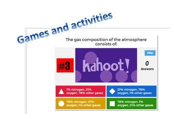 HUGE SCIENCE BUNDLE - Layers of the Atmosphere and Water Cycle