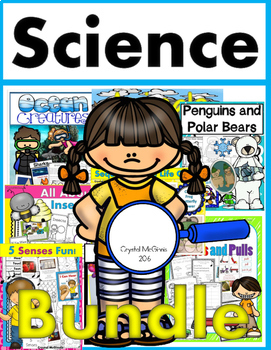 HUGE Science Bundle (Ocean, Plants, Animals, Insects, & MORE) 785 Pages