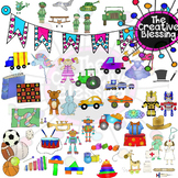 HUGE Set of Toy CLIP ART!