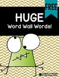 HUGE Sight Words for Word Wall