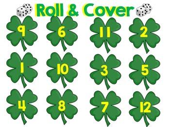 HUGE St. Patrick's Day Bundle Math & Literacy Centers Special Education, Autism
