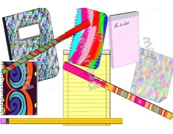 ~{HUGE}~ Stationary Clip Art Collection