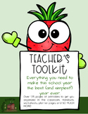 Teachers Toolkit Planner Classroom Organization Printables