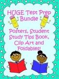 HUGE Test-Prep Bundle! Posters, Student Study Tips Book, C