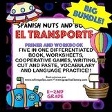 HUGE Transporte Bundle! Workbooks/book, games, worksheets,