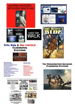 HUGE - US History Themed Reading Common Core Curriculum Bundle